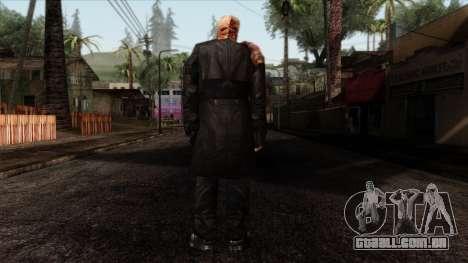 Resident Evil Skin 9 para GTA San Andreas segunda tela