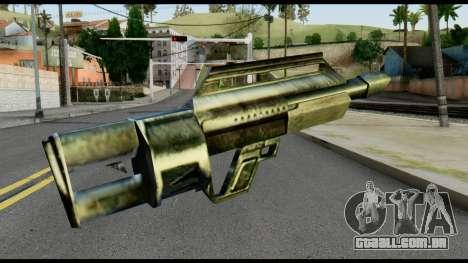 Jackhammer from Max Payne para GTA San Andreas