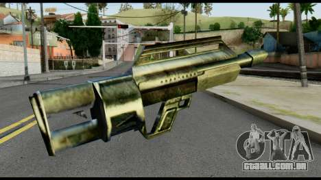 Jackhammer from Max Payne para GTA San Andreas segunda tela