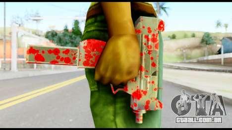 Micro SMG with Blood para GTA San Andreas terceira tela
