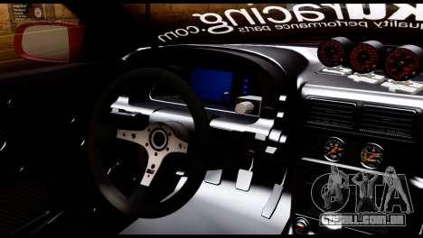 Mazda RX-7 FC35 Hoonigan para GTA San Andreas traseira esquerda vista