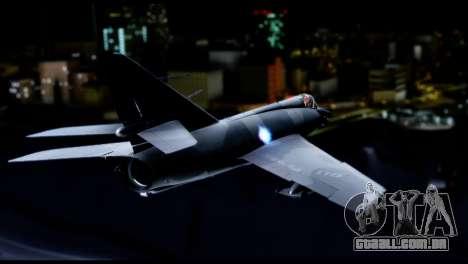 Dassault Etendard IV MF para GTA San Andreas esquerda vista