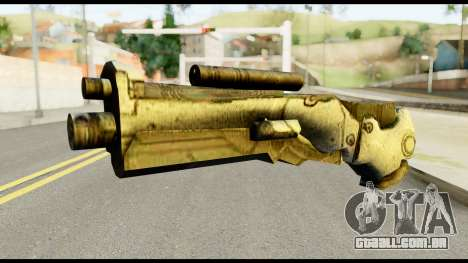 Plasmagun from Metal Gear Solid para GTA San Andreas