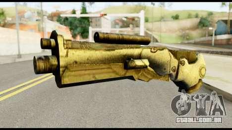 Plasmagun from Metal Gear Solid para GTA San Andreas