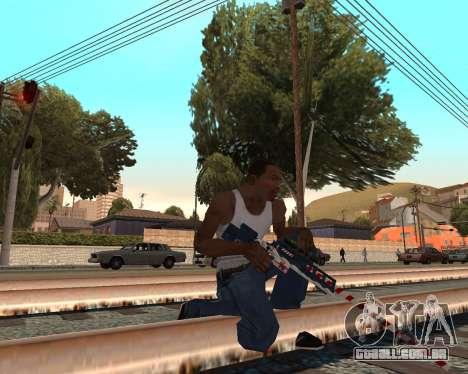 Ano novo weapon pack v2 para GTA San Andreas segunda tela