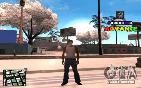 C-HUD Advance RP para GTA San Andreas