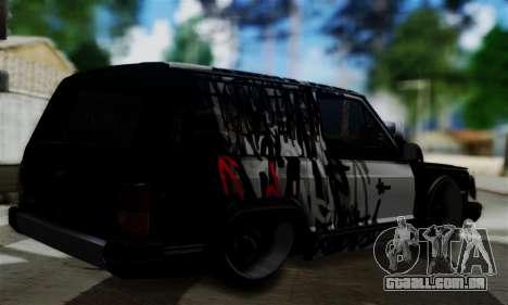 Jeep Mini-Truck para GTA San Andreas esquerda vista