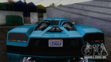 GTA V Overflod Entity XF v.2 para GTA San Andreas vista direita