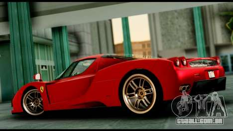 Ferrari Enzo 2002 para GTA San Andreas vista interior