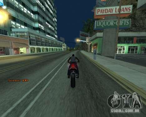 Car Speed para GTA San Andreas