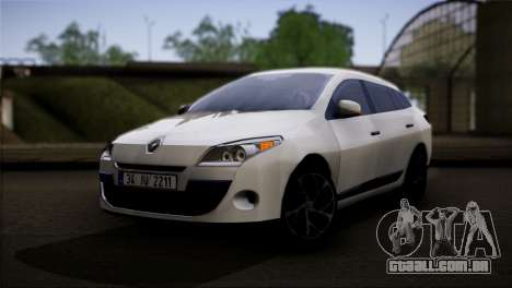 Renault Megane Sport Tourer 1.5 DCI 2011 para GTA San Andreas