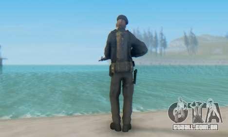 Boina Negra (FES) para GTA San Andreas por diante tela