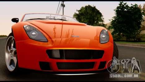 GTA 5 Dewbauchee Rapid GT Cabrio [IVF] para GTA San Andreas vista direita
