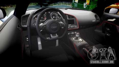 Audi R8 competition 2015 [EPM] para GTA 4 vista lateral