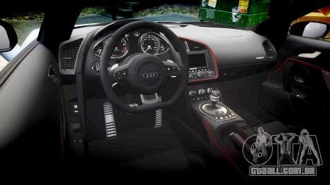 Audi R8 competition 2015 [EPM] para GTA 4 vista lateral