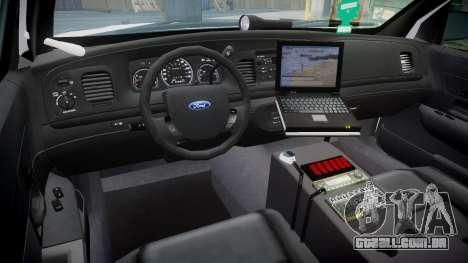Ford Crown Victoria Martin County Sheriff [ELS] para GTA 4 vista de volta