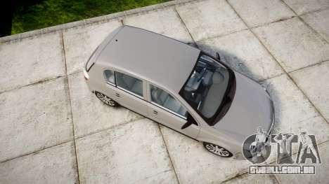 Vauxhall Astra 2009 Police [ELS] Unmarked para GTA 4 vista direita