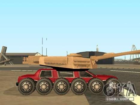 Tink Tank para GTA San Andreas vista traseira