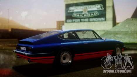 GTA 5 Lampadati Pigalle para GTA San Andreas traseira esquerda vista