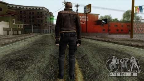 Resident Evil Skin 5 para GTA San Andreas segunda tela