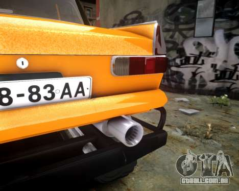 Moskvich 412 Monstro para GTA 4 vista interior