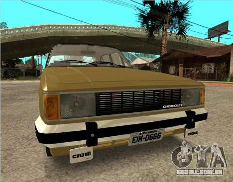 Chevrolet Opala 1980 para GTA San Andreas vista direita
