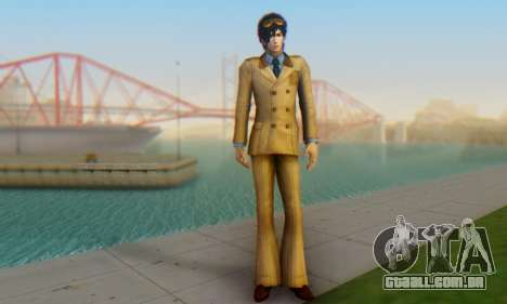 Dynasty Warriors 8 XLCE Li Dian DLC para GTA San Andreas terceira tela
