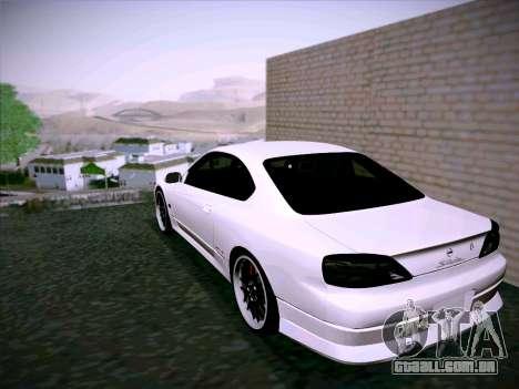 Nissan Silvia S15 Roux para GTA San Andreas vista direita