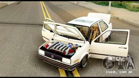 Volkswagen Jetta A2 Coupe para GTA San Andreas vista direita