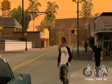 Doggers Gang para GTA San Andreas segunda tela
