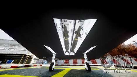 Lockheed F-117 Nighthawk para GTA 4 vista direita