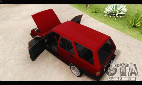 Tofas Kartal (EL 34 5323) para GTA San Andreas traseira esquerda vista