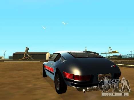Volkswagen SP2 Original para GTA San Andreas esquerda vista