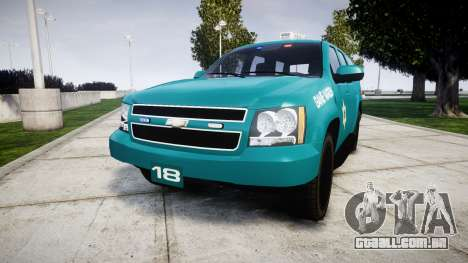 Chevrolet Tahoe 2013 Game Warden [ELS] para GTA 4