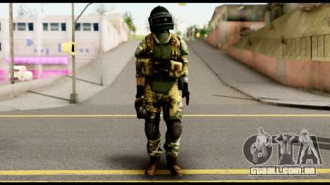 Support Troop from Battlefield 4 v2 para GTA San Andreas