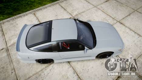 Nissan 240SX Sil80 para GTA 4 vista direita