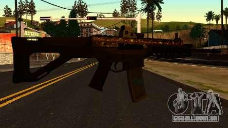 ACW-R from Battlefield 4 para GTA San Andreas segunda tela