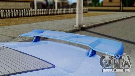 GTA 5 Dewbauchee Massacro Racecar para GTA San Andreas vista direita