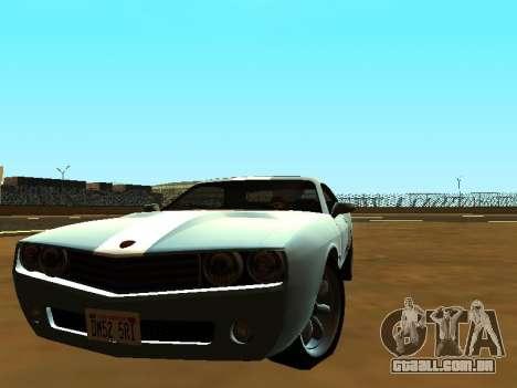 GTA 5 Bravado Gauntlet para GTA San Andreas esquerda vista