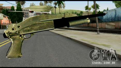 Pump Shotgun from Max Payne para GTA San Andreas segunda tela