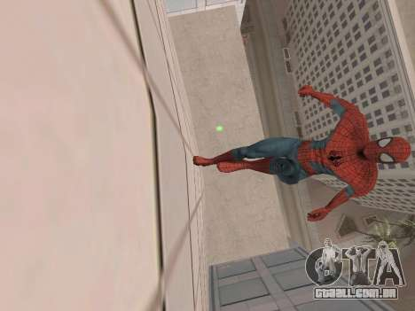 Spiderman 3 Crawling para GTA San Andreas