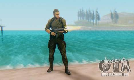 Sam Fisher - Paladin Outfit (Splinter Cell Black para GTA San Andreas segunda tela