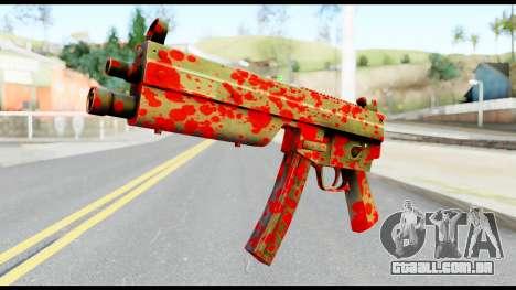 MP5 with Blood para GTA San Andreas