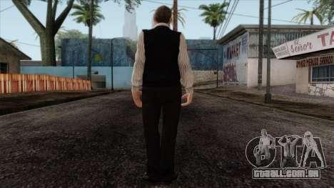GTA 4 Skin 33 para GTA San Andreas segunda tela