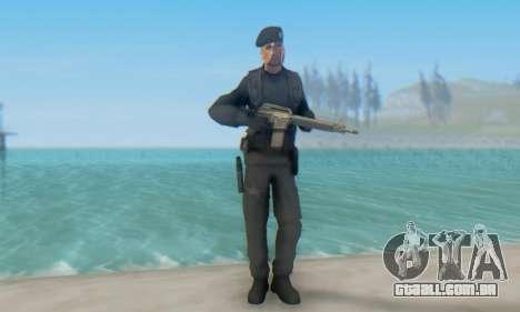 Boina Negra (FES) para GTA San Andreas terceira tela