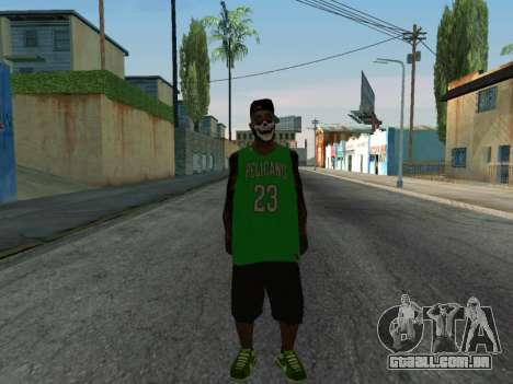 Fam3 Skin para GTA San Andreas