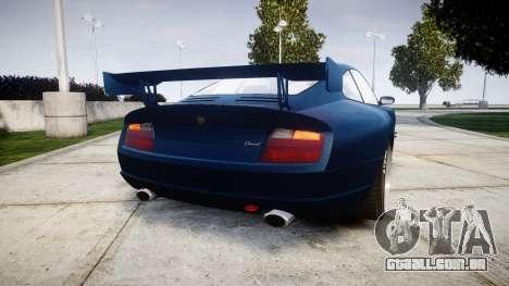 Pfister Comet GT v3.0 para GTA 4 traseira esquerda vista