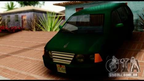 New Moobeam para GTA San Andreas traseira esquerda vista