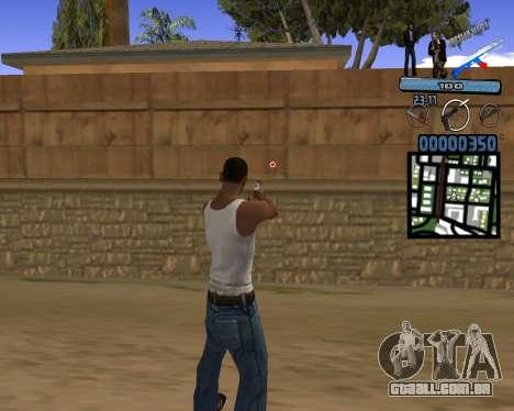 C-HUD Russian Mafia para GTA San Andreas