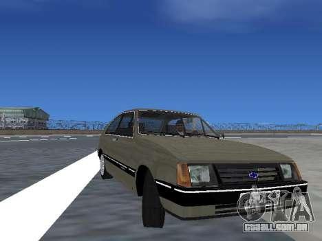 Chevrolet Chevette Hatch para as rodas de GTA San Andreas